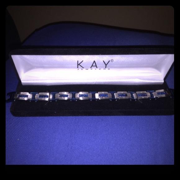 29 off Kay Jewelers Other Mens Bracelet 16 CT Diamonds