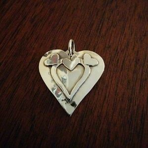 James Avery Jewelry - Hammered heart pendant
