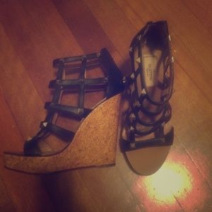 Valentino Shoes - Valentino rockstud wedges