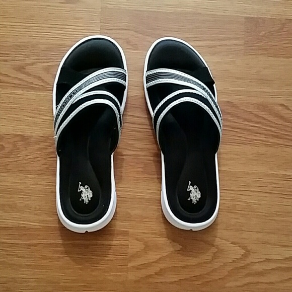 black and white polo shoes 9 from styles by top seller
