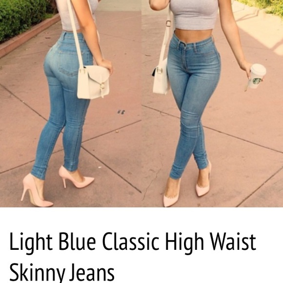 Fashion nova Denim - High waisted skinny jeans