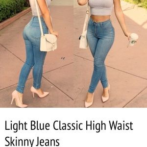 Fashion nova Jeans - High waisted skinny jeans