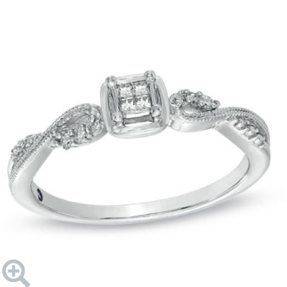 63% off Zales Jewelry Zales Diamond Promise Engagement Ring from Brittany&