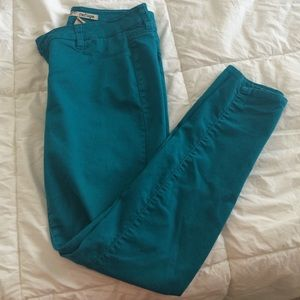 Pants - Teal Jeggings