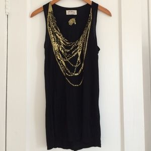 Torn by Ronny Kobo Tunic Top | Size M