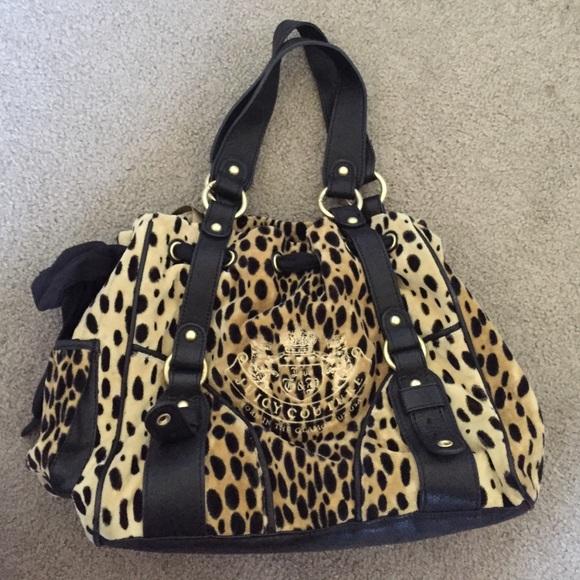 Juicy Couture Handbags - Cheetah print Juicy Couture purse 252e4efdd7b7
