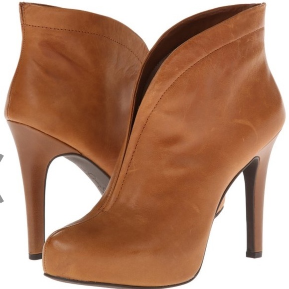 62% off Jessica Simpson Boots - Jessica Simpson Tan Ankle Boots ...