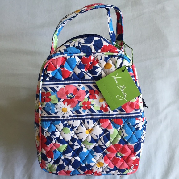 07696adaf55e Vera Bradley Lunch Bag Summer Cottage