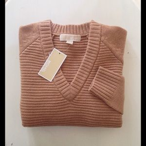MICHAEL KORS CASHMERE BLEND SWEATER