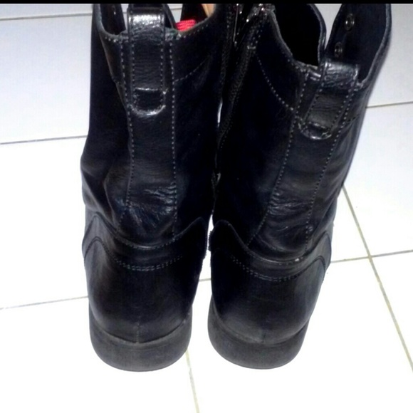 71 black poppy boots black poppy combat boots from