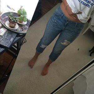 Arden B Jeans - Boyfriend Capri pants