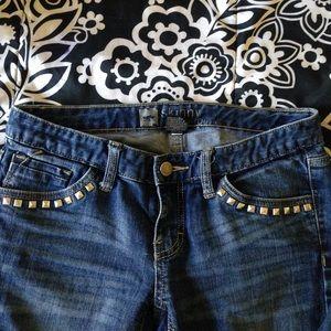 Mossimo Supply Co Denim - studded skinny jeans