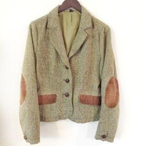 Ambition  Jackets & Blazers - Wool-like Blazer with Corduroy Elbow Patches