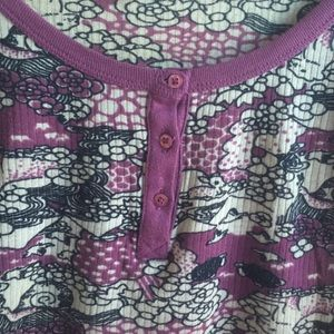 Urban outfitters printed henley