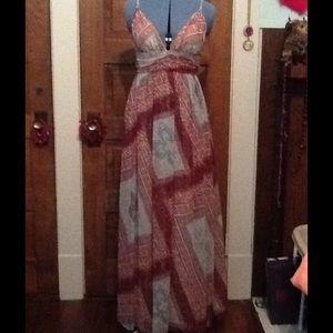 Moda International Maxi Dress Size M