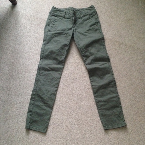 Brilliant AE Women39s Favorite Artist Pant Khaki  American Eagle Outfitters