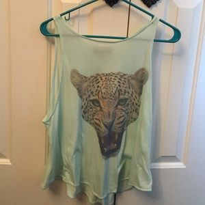 Wildfox Tiger tank top