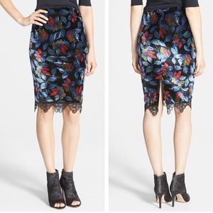 ASTR Dresses & Skirts - NEW ASTR Velveteen Pencil Skirt