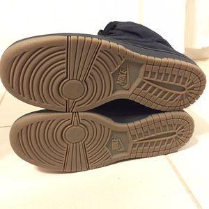 Nike Shoes - Nike x APC black suede dunks
