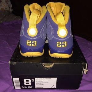 quality design 7cf62 9c868 Jordan Shoes - JORDAN RETRO 9 (calvin bailey)