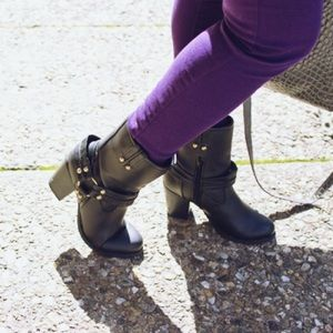 JustFab Shoes - Moto boots
