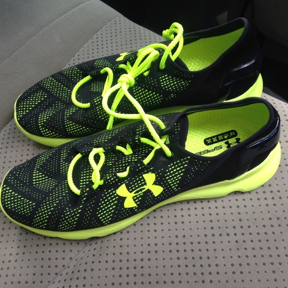 green under armour shoes mens