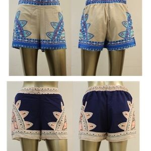 Pants - Printed shorts
