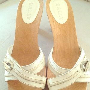 AUTHENTIC Bally off white cruise edition shoes