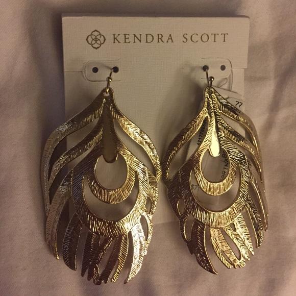 60 Off Kendra Scott Jewelry Kendra Scott Gold Earrings