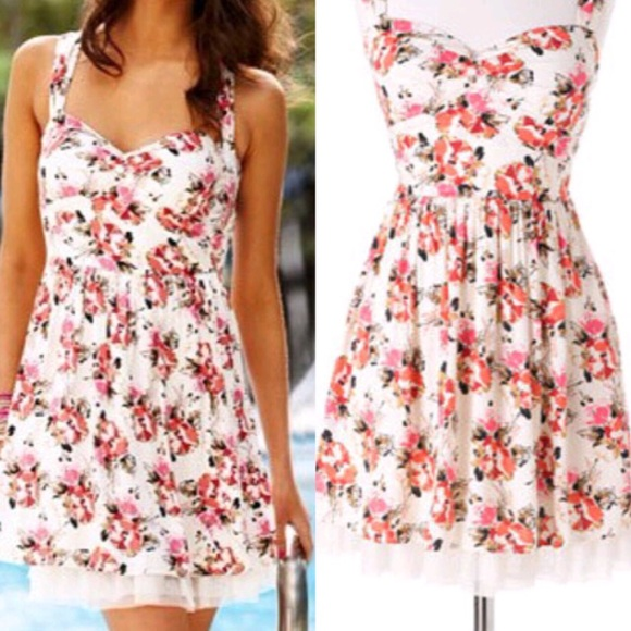 82% off Delias Dresses & Skirts - Delia*s Floral Dress from ...
