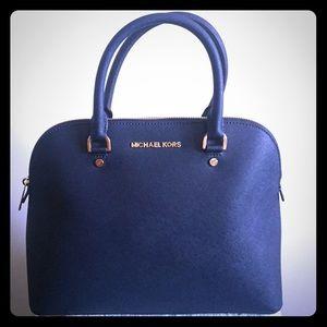 aeb1a19de0b0 Medium Leather Bag Micheal Kors Cindy Large Saffiano Leather Satchel .