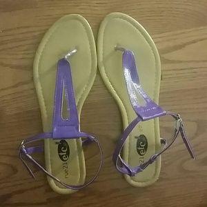 Purple Sandles