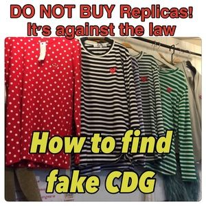 Comme des Garcons Other - DO NOT BUY FAKE! Information about CDG