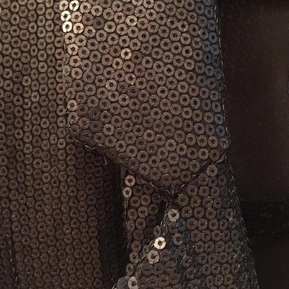 Buckley Jackets & Coats - Black Sequined Blazer Size 4