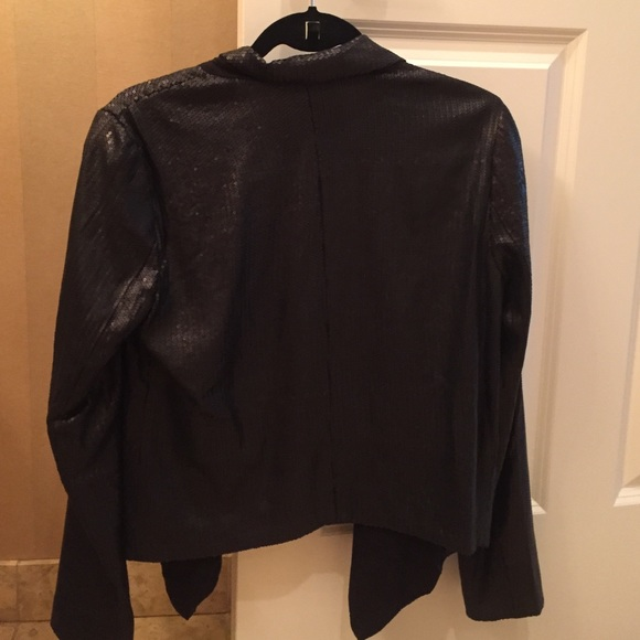 Buckley Jackets & Coats - Black Sequined Blazer Size 4