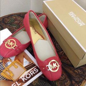 Brand New Michael Kors Fulton Moc Size 8
