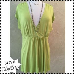 REDUCED!!....Cable & Gauge cap sleeve top