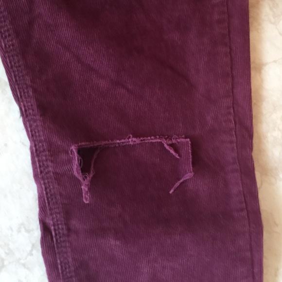 50% off Free People Pants - Free People High Rise Skinny PLUM ...