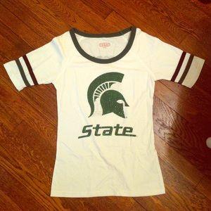 Tops - Michigan State Tshirt