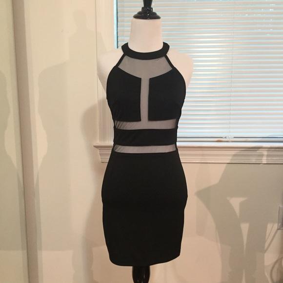 Akira Dresses Sexy Mesh Cut Out Dress Poshmark