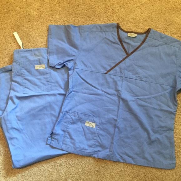 70 Off Urbane Scrubs Pants Ceil Blue Urbane Scrubs Set