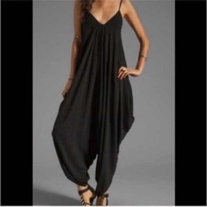 Draped Jumpsuit-EXTRA LARGE