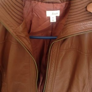 100% Real Leather Jacket from Frenchi