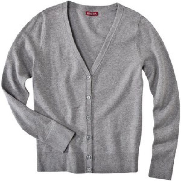 64% off Merona Sweaters - Grey Button Up Cardigan from ✨sav's ...