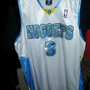 Tops - Authentic AI jersey denver nuggets