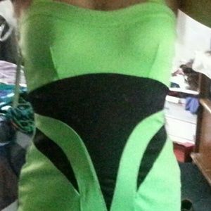 Dresses & Skirts - Bodycon Lime Dress love this Dress