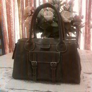 68% off Chloe Handbags - Chloe Edith Brown Leather Handbag from ...