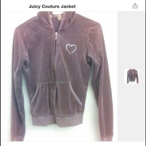 Vintage lavender Juicy Couture jacket