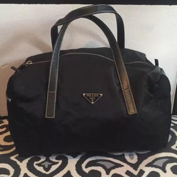 c93331a10c96da Prada Bags | Sold Tessuto Nylon Bowler Bag | Poshmark