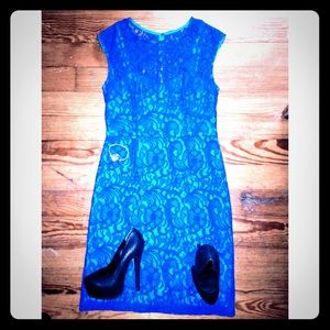 Ivy & Blu Lace Cocktail Dress - New Size 6